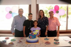 Henry Mendoza, Nicolás Mendoza, Gabriela Mendoza ,Juliana Arias y Henry Mendoza.  - Élver Rodríguez/GENTE DE CAÑAVERAL