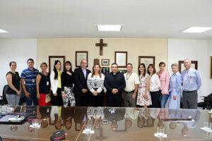 Directivos y secretarios de la Universidad Pontificia Bolivariana de Bucaramanga. - Suministrada/GENTE DE CAÑAVERAL