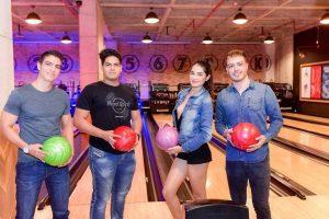 Cristian Quijano, Sebastián Reyes, Camila Vega y  Anderson Quijano.   - Suministrada/GENTE DE CAÑAVERAL