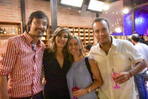 Nelson Vargas, Zulay Ardila, Margarita Restrepo y Sergio Torres.  - Suministrada/GENTE DE CAÑAVERAL