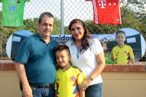Alfonso Perdomo Perdomo,Nicolás Perdomo y Michella Gutiérrez. - Fabián Hernández /GENTE DE CAÑAVERAL