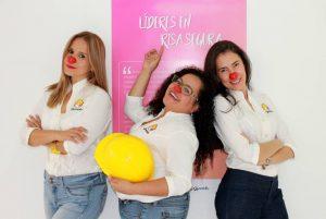 Sara Catherine Roa, gerente de Relaciones; María Fernanda Arambarri, gerente general, y Luz Dary Vega, directora creativa.  - Suministrada /GENTE DE CAÑAVERAL
