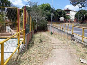 Los alrededores del parque La Pera también recibieron mantenimiento por parte de la Secretaría de Infraestructura.  - Suministrada/GENTE DE CAÑAVERAL