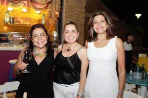 Suministrada /GENTE DE CAÑAVERALMaría Eugenia Pico, Fabiola Rodríguez y Cecilia Pico.