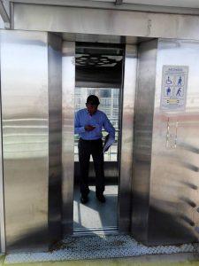 El ascensor de la estación Panamericano de Cañaveral ya está al servicio de los usuarios.  - Suministrada/GENTE DE CAÑAVERAL