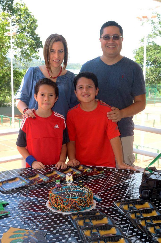 María Paula Guzmán, Camilo Espinel, Sebastián Espinel y Santiago Espinel. - Fabián Hernández /GENTE DE CAÑAVERAL