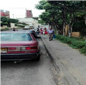"Los afectados aseguran que este sector se ha convertido en un ""terminalito"".  - Suministrada/GENTE DE CAÑAVERAL"