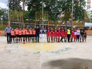 En la cancha de La Pera se jugará la final del Campeonato de Microfútbol Femenino.  - Suministrada/GENTE DE CAÑAVERAL