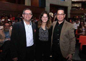 Jorge Alberto Castro, María Paulina Baena y Luis Eduardo Pérez.  - Élver Rodríguez/GENTE DE CAÑAVERAL