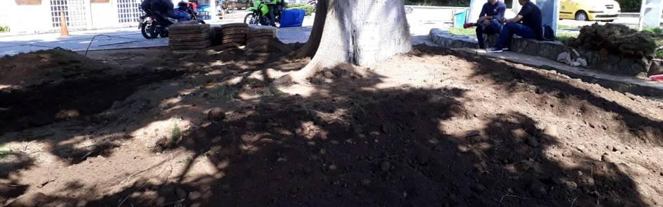 Avanza recuperación del parque Las Llaves