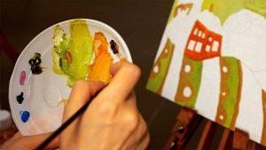 El curso de pintura se extenderá hasta diciembre.  - Suministrada/GENTE DE CAÑAVERAL