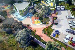 Este es uno de los diseños preliminares del sendero ecológico que se construirá en Cañaveral. - Suministrada/GENTE CAÑAVERAL