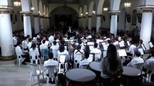 La presentación de la sinfónica quedó reprogramada para el 6 de junio, en la parroquia Santa María Reina de Cañaveral.  - Suministrada/GENTE DE CAÑAVERAL