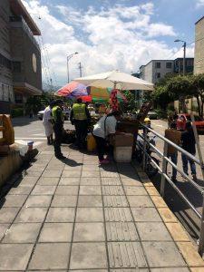 Las autoridades adelantan controles para evitar la invasión del espacio público.  - Suministrada/GENTE DE CAÑAVERAL