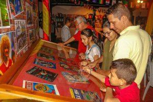 En la Casa Paragüitas los visitantes podrán disfrutar de la historia de los mundiales desde 1.930.  - /GENTE DE CAÑAVERAL