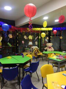 La 'Zona Feliz' funciona en el primer piso del Hospital Universitario de Santander,  en el área de Oncología.   - Suministrada/GENTE CAÑAVERAL