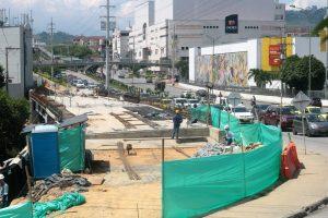 La primera fase de la obra, que comprende TCC- Telebucaramanga, finalizará el 31 de julio.    - Fabián Hernández/GENTE DE CAÑAVERAL