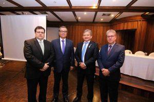 Rafael Serrano, Édgar Franco Serrano, Germán Rangel y Álvaro Torres. - Élver Rodrigez/GENTE DE CAÑAVERAL