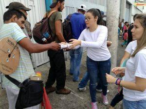 Esta actividad se realiza cada 15 en diferentes sectores de Bucaramanga.  - Suministrada/GENTE DE CAÑAVERAL