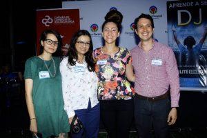 Alejandra Gualdrón , Laura González, Victoria García y Camilo Higuita - César Flórez/GENTE DE CAÑAVERAL