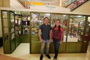 Jesús López  y Claudia Ramírez. - Élver Rodríguez/GENTE DE CAÑAVERAL