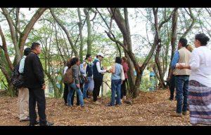 El alcalde de Floridablanca, Héctor Mantilla, visitó la zona y socializó lo avances del proyecto.   - Suministrada/GENTE DE CAÑAVERAL