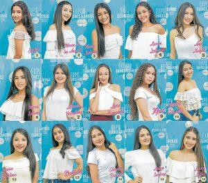 Las niñas empezaron el entrenamiento en etiqueta y glamour y las clases de baile. - Suministrada/GENTE DE CAÑAVERAL