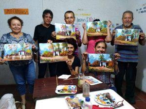 Los residentes que participan en estos talleres tendrán su propia exposición.  - Suministrada/GENTE DE CAÑAVERAL