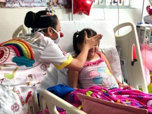 La Fundación, por medio de sonrisas y actividades lúdicas, alegra los corazones de quienes más lo necesitan. - Sumunistrada/GENTE DE CAÑAVERAL