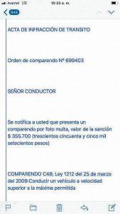 """Los """"comparendos"""" falsos están llegando a los correos electrónicos.  - SuministradaGENTE DE CAÑAVERAL"""