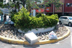 La comunidad hace un llamado a la empresa de aseo para que continuamente realice limpieza en la zona.  - Fabián Hernández/GENTE DE CAÑAVERAL
