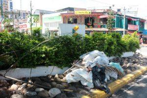La bahía es utilizada como basurero y baño público.  - Fabián Hernández /GENTE DE CAÑAVERAL