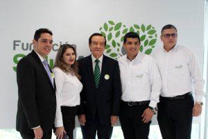 /GENTE DE CAÑAVERAL Carlos Rincón, María Eugenia Becerra, Jorge Gómez Duarte, Jairo Corzo y Gustavo Mora.