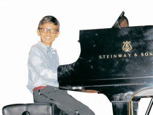 Juan Pablo participó recientemente en el Festival Infantil del Piano de la UIS, que forma parte de la programación del Festival Internacional de Piano.  - Suministrada/GENTE DE CAÑAVERAL