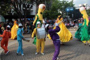 Acción relacional, happening y arte participativo; fanzine-mixta, muralismo, teatro, circo y artes visuales, son las técnicas que harán parte de las muestras de arte en vivo que se presentarán en varios parques de Bucaramanga.  - Archivo/GENTE DE CAÑAVERAL