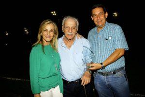 María Claudia Montanini, Américo Montanini y Gabriel Puyana. - César Flórez/GENTE DE CAÑAVERAL