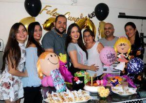 Fabián Hernández /GENTE DE CAÑAVERAL Paula Álvarez, Martha Amorocho, Óscar Tuirán, Estefania Álvarez, Raquel Amorocho, Jhon Amorocho y Sirley Amorocho.
