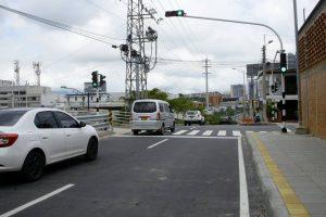 Los semáforos ya están funcionando. Actualmente se está haciendo la señalización horizontal.  - César Flórez/ GENTE DE CAÑAVERAL