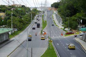 El acceso a la autopista desde Lagos fue cerrado.  - César Flórez/ GENTE DE CAÑAVERAL