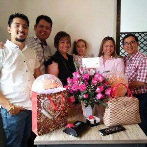 Edwin Maldonado, Javier Maldonado, Evelinda Osorio, Julieta Velasco, Diana Maldonado y Joselin Maldonado.  - Suministrada/GENTE DE CAÑAVERAL