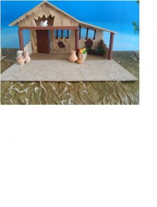 Las figuras de Belén forman parte de la Navidad.  - Suministrada/GENTE DE CAÑAVERAL