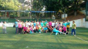 Las mujeres se unen en el parque de la salud para ejercitarse.  - Suministrada/GENTE  DE CAÑAVERAL