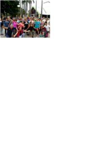 Un grupo de personas interesadas en mejorar su salud, entrenan a diario en el parque La Pera  - Suministrada/GENTE DE CAÑAVERAL
