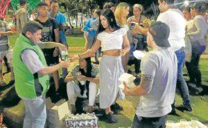 Los jueves de cada semana integrantes y voluntarios de la Corporación Colombia Real llevan las ayudas que recolectan durante la semana para la población venezolana que se encuentra en situación vulnerable.  - Suministrada/GENTE DE CAÑAVERAL