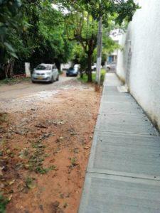 La restauración de esta vía estaba prevista para comienzo de año y a la fecha sigue sin recibir atención.  - Suministrada/GENTE DE CAÑAVERAL