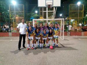 Las jóvenes siguen entrenando continuamente para destacarse en torneos locales.  - Archivo /GENTE DE CAÑAVERAL