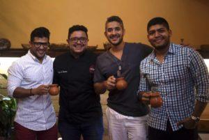 Juan Arango, Carlos Contreras, Javier Jiménez y Fabio Paba. - Suministrada/GENTE DE CAÑAVERAL