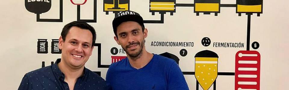 Néstor Jaimes y Jairo Moreno,  dos emprendedores locales