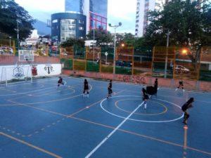 La actividad recreativa y deportiva comenzará el 26 de noviembre en la cancha La Pera.  - Suministrada/GENTET CAÑAVERAl