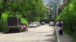 Esta es una de las vías más utilizadas como parqueadero público. La ciudadanía hace un llamado a las autoridades de Tránsito para que intensifiquen los controles.   - César Flórez /GENTE DE CAÑAVERAL